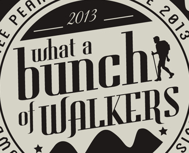 What a Bunch of Walkers Logo